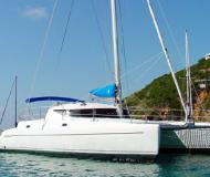 Cat Athena 38 available for charter in Marina de Denia