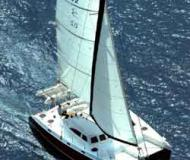 Cat Broadblue 435 for charter in Bodrum