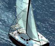 Kat Broadblue 435 in Bodrum Marina Milta chartern