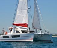 Cat Catana 42 for hire in Maya Cove