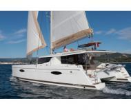 Catamaran Helia 44 for rent in Marina di Portisco