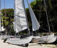 Katamaran Hobie Cat 16 chartern - Yachtcharter in Brenzone