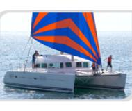 Cat Lagoon 380 available for charter in Salerno