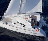 Cat Lagoon 380 for hire in Marina Sangulin