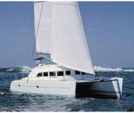 Cat Lagoon 380 S2 for charter in Palma