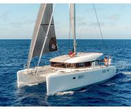 Cat Lagoon 39 available for charter in Lefkas Marina