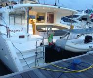 Cat Lagoon 400 for hire in Marina di San Vincenzo