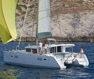 Catamaran Lagoon 400 S2 available for charter in Marina Sangulin