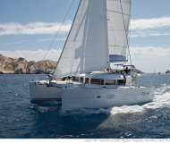 Cat Lagoon 400 available for charter in Marina Seget Donji