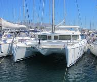 Catamaran Lagoon 420 available for charter in Port Lavrio