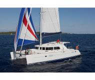 Cat Lagoon 440 available for charter in Marina di Arechi