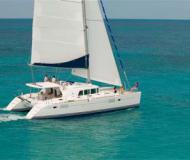 Cat Lagoon 440 available for charter in Marina de La Paz