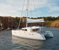 Catamaran Lagoon 450 available for charter in Palermo