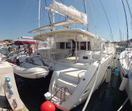 Cat Lagoon 450 for rent in ACI Marina Jezera