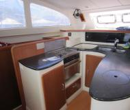 Catamaran Leopard 43 available for charter in Port Louis Marina