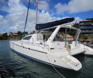 Catamaran Leopard 47 available for charter in Port Louis Marina