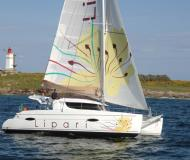 Catamaran Lipari 41 for hire in Port Annapolis Marina