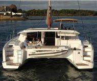 Catamaran Salina 48 for charter in Gouvia