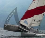 Katamaran Topcat K2 chartern - Yachtcharter in Brenzone