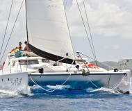 Catamaran Voyage 500 for charter in Sopers Hole