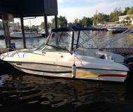 Motor yacht Ambassador 26 for rent in Dolgoprudny Marina