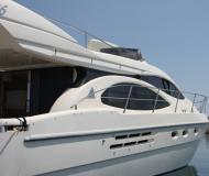 Motor yacht Azimut 46 available for charter in Athens