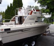Motor yacht Campion Toba available for charter in Granville Island Boatyard