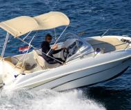 Motoryacht Flyer 550 Sun Deck Yachtcharter in Trogir