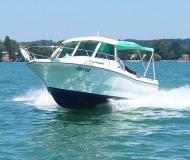 Merry Fisher 635 Motorboot Charter Deutschland
