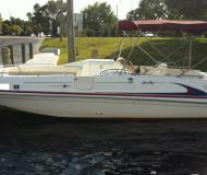 Motor yacht Sea Ray 240 Sundeck for rent in Cape Harbour Marina