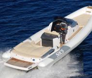 Strider 11 Motorboot Charter Italien
