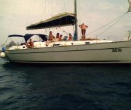 Yacht Cyclades 43.4 available for charter in Marina Darsena Acton