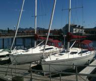 Yacht Delphia 33 for rent in Marinepollen Marina
