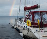 Sail boat Delphia 40 for hire in Tromso Harbour