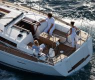 Sailing yacht Dufour 405 Grand Large for hire in Port Louis Marina