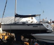 Sailing yacht Elan 40 for hire in Genoa Harbour
