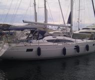 Yacht Elan 444 Impression available for charter in Marina Tankerkomerc