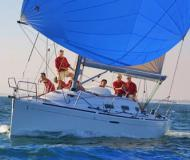 Sailing boat First 36.7 available for charter in Nettuno