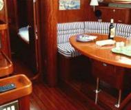 Segelyacht Oceanis 40 Yachtcharter in Hafen von Yerseke