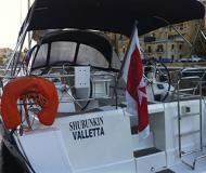 Sailing boat Oceanis 40 for rent in Birgu