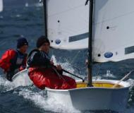 Optimist Segelboot Charter Italien