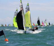 RS Feva Sailboat for rent Brenzone