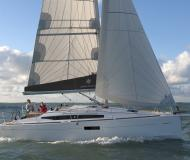 Yacht Sun Odyssey 349 available for charter in Volos Harbour