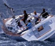 Sun Odyssey 35 Segelyacht Charter Poros
