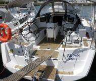 Sailing yacht Sun Odyssey 379 for hire in Marina Dalmacija