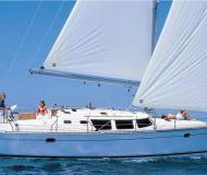 Sailing yacht Sun Odyssey 43 for charter in Tourlos Marina