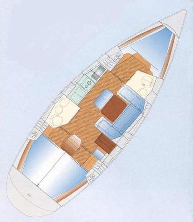 Sailing boat Bavaria 40 Cruiser for rent in Lefkas-39051-0