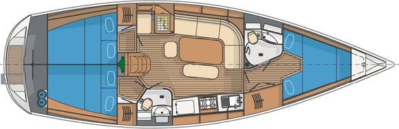 Yacht Delphia 40.2 for rent in Gothenburg-23178-0