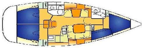 Sailing yacht Sun Odyssey 40 for charter in Ermoupoli-67550-0