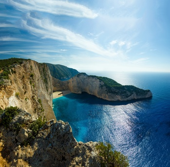 Navagio beach in Greece - credit Netfalls